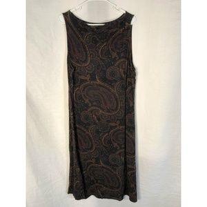 Lauren Ralph Lauren Plus Size 2X Dress Paisley 739
